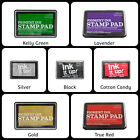 Craft County Pigment Ink Stamp Pad - Assorted Colors - Stamping, Scrapbooking