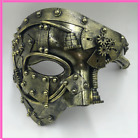 Masquerade Cosplay Mask Ball Half Face Men Punk Costume Halloween Party Props