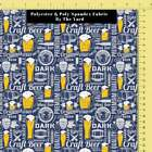 Unit Of 5 And 10 Yard Beer Fabric Digital Printed Fabric By The Yard