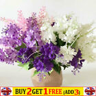Artificial Hyacinth Silk Flowers Fake Wedding Bouquet Home Party Decoration