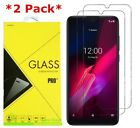 2-Pack Tempered Glass Screen Protector For T-Mobile TCL REVVL 4 / 4+ Plus