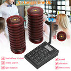 20 Restaurant Coaster Pagers Guest keypad Wireless Calling Paging Queuing System