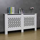 White Radiator Cover Grill Shelf Cabinet MDF Wood Modern Traditional Furniture
