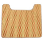 U Type Tray Cat Litter Mat Scatter Control Easy Clean Honeycomb Feeding Mat LE