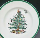 Spode England Collectible Christmas Tree Plate Winter Holiday Replacement