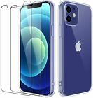COQUE IPHONE 12 / 12 pro mini 11 max XR XS +2X VITRE housse silicone transparent