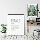 Teenager Funny Definition Print,definition Printable Wall Art Gift,funny print