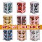 12pcs Christmas Tree Balls Home Xmas Decorations Baubles Party Wedding Ornament