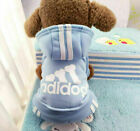 4 Leg Pet Dog Clothes Cat Puppy Coat Winter Hoodies Warm Sweater Jacket Clothing For Sale