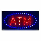 Bright LED Neon Light ATM / ATM CASH Open Busines Sign w/ ON/OFF Animated Switch