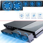 5-Fan Play Station4 Host Cooling Fan Cooler External Accessories For PS4 Game