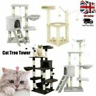 Cat Tree Scratching Climbing Scratcher Tower Post Activity Centre Sisal Bed Toys