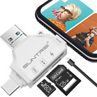 SD/Micro SD Card Memory Reader for iPhone/ipad/Android/Mac/Computer/Camera