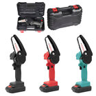 4 inch Mini Cordless Electric Chainsaw 24V Battery-Powered Saw Wood Cutter TU