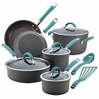 Rachael Ray Cucina Hard Anodized Nonstick Cookware 12-Piece Set, choose colors!