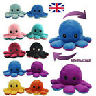 Double-Sided Flip Octopus Plush Toys Funny-UK Animals Octopus Plush Toys