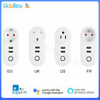 WiFi Smart Plug Wireless Socket APP Remote Control Timer Outlet Dual USB Port