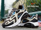 Nike Air Max 200 Brown Pastel Blue Running Shoes Sneakers AQ2568 Men's size 11