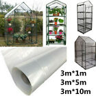 Greenhouse Clear Plastic Film Polytunnel Cover Fits For Plants Vegetables