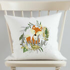Personalised Fox Pillow cover Fox Face Pillow Cover Fox Gift For Girls Decor
