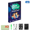 Toys For Kids Light Drawing Board Pad Doodle Writing Educational Girls Xmas Gift For Sale