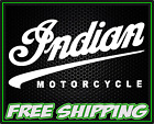 Indian Motorcycle - Motorcycle Bobber Cafe Racer - Vinyl Decal Sticker
