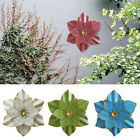 Art Craft Home Ornament Living Room Hotel Wall Decoration Metal Flower Hanging