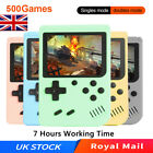 Built-in 500 Classic Games Handheld Retro Video Game Console Gameboy Kids Gifts