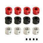 Au Metal 5mm To 12mm Axle Adapter Upgraded Combiner For Wpl D12 Mn Rc Car Parts