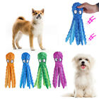 Vocalization Puppy Interactive Bite Toy Octopus Dog Chew Toys Dog Squeakers Toy