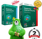 Kaspersky Total Security & Internet Security License 2 Years 1 2 3 4 or 5 Device