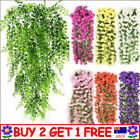 Artificial Fake Hanging Flowers Vine Plant Home Garden Indoor Outdoor Decor Ttau