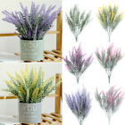 Artificial Lavender Bouquet Silk Fake Flowers Wedding Party Home Decoration New