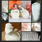 3D Hand Foot Print Mold For Baby Powder Plaster Memorial Kit Casting For H9V9