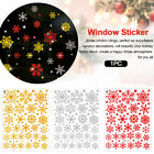 Living Room Static Snow Flower Christmas Decoration Home Window Sticker Holiday