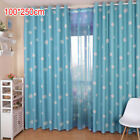 Living Room Easy Clean Fadeless Soft Printed Home Decor Polyester Window Curtain