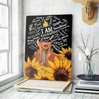 I Am Black Strong Girl Poster, African Women Poster, Black Queen Poster