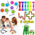 Sensory Fidget Toys Set, Stress Relief and Anti-Anxiety Tools for ADHD Autism