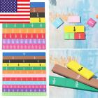 Magnetic Rainbow Fraction Tiles Early Educational Fraction Magnets Math Toys