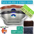 Heavy Duty Plastic Dog Bed | Waterproof Pet Bed | Strong Durable Dog Basket