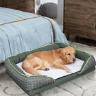 High Grade Orthopedic Pet Sofa Bed Dense &Soft Foam Jumbo Dog Bed Cradle Lounger