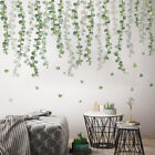 Green Tropical Leaves Wall Stickers Decal Nursery Pvc Plant Art Mural Home Decor