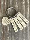 Mother Keychain Personalized Child's name custom Mom Jewelry Mother's Day Gift