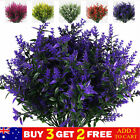 Artificial Lavender Flowers Outdoor Garden Bunch Plant Party Wedding Home Decor
