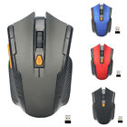 Wireless Optical Mouse Optical 2000dpi 6 Buttons Pc Laptop Computer Games Mice