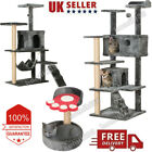 Modern Cats Tree Pet Tower Scratching Post Activity Centre Playhouse Kittens Toy