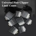 8 IN 1 Professional Hair Clipper Limit Comb Cutting Guide Combs 1.5mm~25mm US #