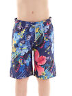Brunotti Boardshort Swim Trunks Consola Blau Flowers Drawstring Pockets