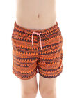 Brunotti Boardshort Coldio Swimshorts Orange Pattern Mesh Inserts