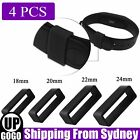 4 Styles Silicone Rubber Watch Strap Band Keeper Holder Hoop Loop Ring Retainer